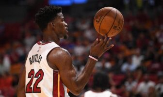 Jimmy Butler sous le maillot du Heat