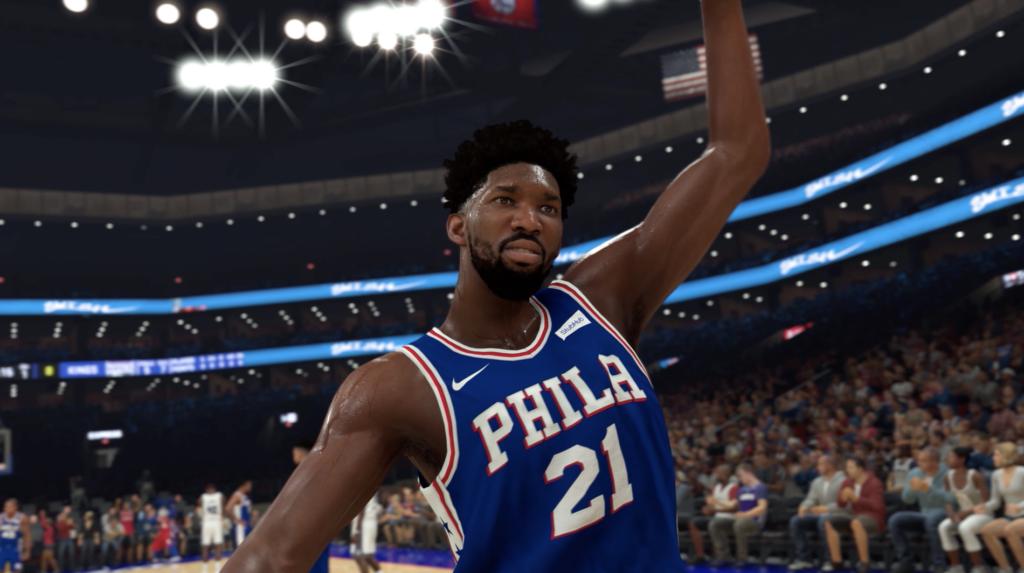 Joel Embiid dans NBA 2K20