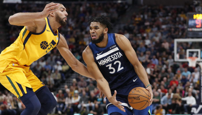 Karl-Anthony Towns a gagné son duel face à Rudy Gobert