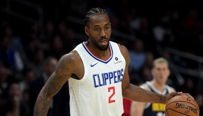 Kawhi Leonard sous le maillot des Clippers