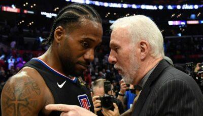 NBA – Une réunion entre Leonard et Popovich ? Kawhi répond cash