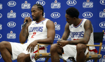 Quand Lou Williams imite Kawhi Leonard