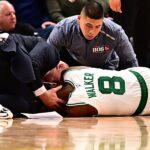 NBA – Les joueurs réagissent à l'impressionnante blessure de Kemba Walker