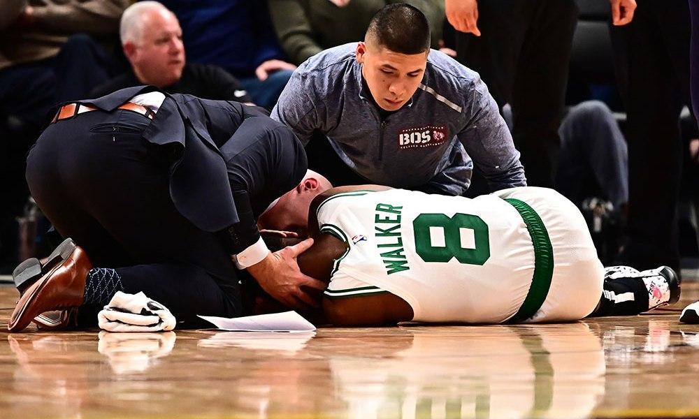 NBA - Les joueurs réagissent à l'effrayante blessure de Kemba Walker