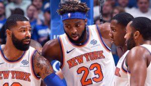 NBA – Un nouveau changement dans le 5 majeur des Knicks