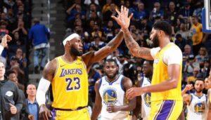 NBA – Le trio LeBron, Davis et Kuzma signe du jamais vu chez les Lakers depuis 2013