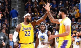 LeBron James et Anthony Davis vise un record des Lakers