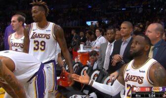 LeBron se prend encore un vent par Dwight Howard