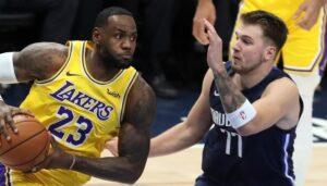 NBA – LeBron compare Luka à une immense légende… et à lui-même