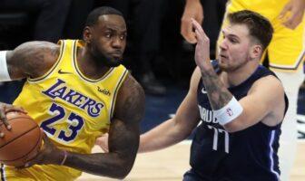 Le gros duel entre LeBron James et Luka Doncic