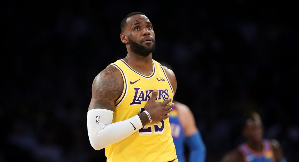 Lebron James historique face au Thunder