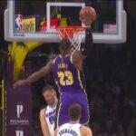 NBA – LeBron trolle les Kings après son poster sur Nemanja Bjelica