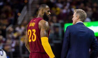 Steve Kerr complimente LeBron James