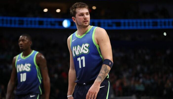 Luka Doncic face aux Clippers