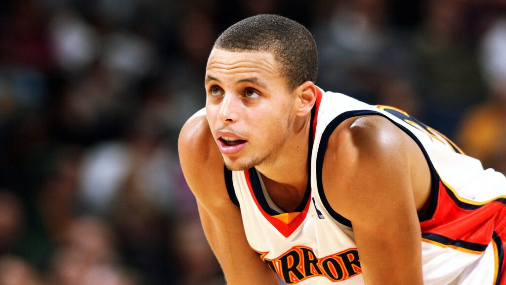 Stephen Curry durant son année rookie