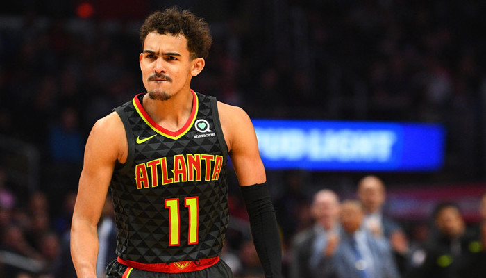 Grosse performance de Trae Young face aux Nuggets