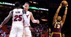 NBA – Tyler Herro et Kendrick Nunn font du jamais vu depuis Wilt Chamberlain