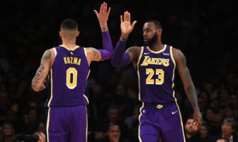 NBA - Kyle Kuzma encense LeBron James