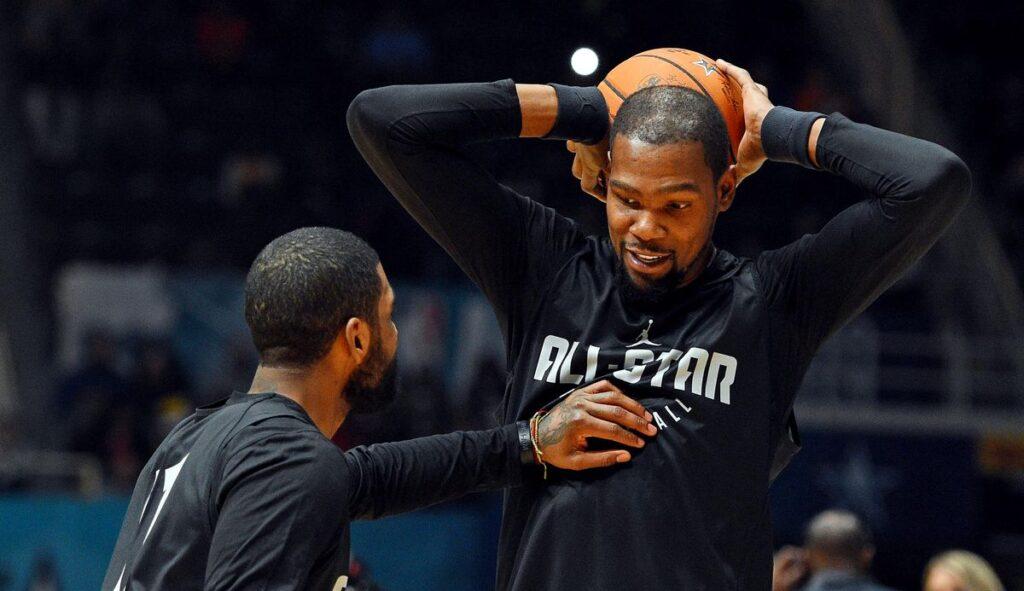 NBA - Kevin Durant et Jaylen Brown à la rescousse de Kyrie Irving