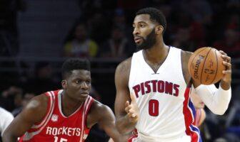 NBA - Clint Capela rejoint Dennis Rodman, Drummond réagit