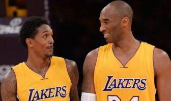 plaisanterie entre Lou Williams et Kobe Bryant
