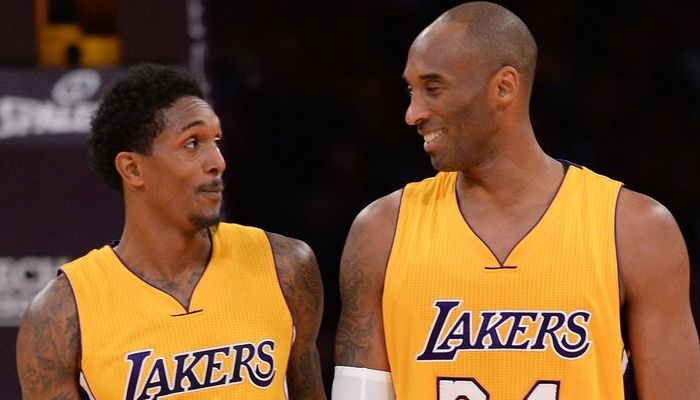 plaisanterie entre Lou Williams et Kobe Bryant