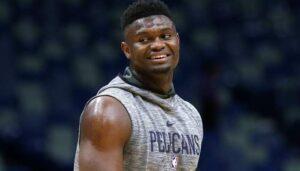 NBA – Zion Williamson réagit au cercle qu'il a cassé hier