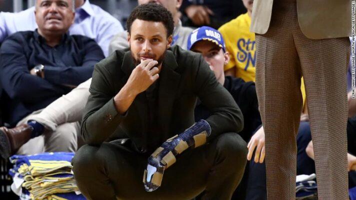 """Stephen Curry : """"Je vais péter un câble"""""""