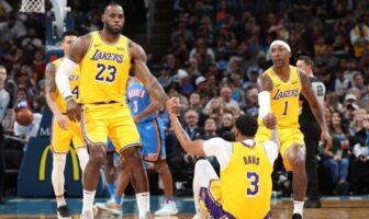 Les 2 joueurs les plus touchés par l'épidémie aux Lakers