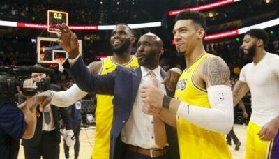 NBA – LeBron réagit aux départs de Danny Green et Quinn Cook