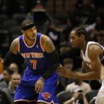NBA – Kawhi Leonard et Paul George montent au créneau pour Carmelo Anthony