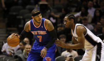 NBA - Kawhi Leonard et Paul George montent au créneau pour Carmelo Anthony