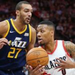 NBA – Rudy Gobert envoie un tacle à Damian Lillard et Hassan Whiteside