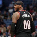 NBA – De la concurrence pour Carmelo Anthony aux Blazers ?