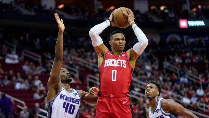 Enfin record positif Russell Westbrook !