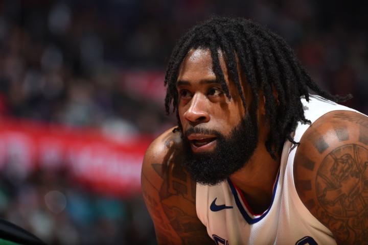 DeAndre Jordan avec les Los Angeles Clippers