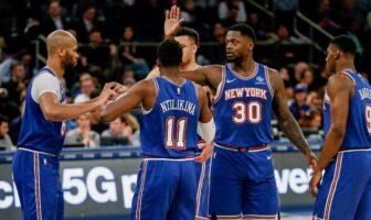 Accablante statistique Knicks