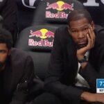 NBA – Kyrie Irving et Kevin Durant trollés après la défaite des Nets contre les Knicks
