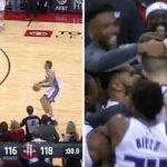 NBA – Nemanja Bjelica termine les Rockets d'un buzzer-beater depuis le parking !