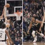 NBA – Le gros poster d'anniversaire de Giannis sur la tête des Clippers