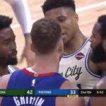 NBA – Grosse tension entre Giannis et Blake Griffin