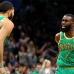 NBA – En feu, Jaylen Brown et Jayson Tatum entrent dans l'histoire des Celtics !