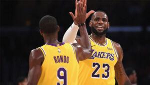 NBA – La leçon cash de Rajon Rondo aux cadres des Lakers