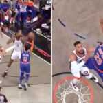 NBA – Frank Ntilikina envoie Mitchell Robinson sur orbite pour un alley-oop violent !
