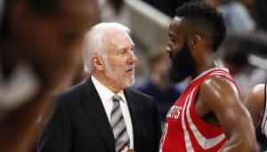 NBA – Gregg Popovich recadre les Rockets