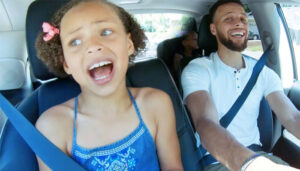 NBA – Steph Curry raconte comment il a traumatisé sa fille