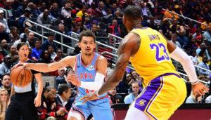 NBA – LeBron s'en prend à Trae Young en plein match !