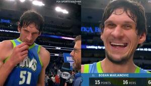 NBA – Boban fait encore des siennes devant les caméras !