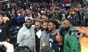 NBA/High School - Bronny James devient MVP devant un LeBron excité !