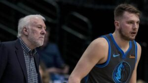 NBA – Gregg Popovich compare Luka Doncic à une immense légende